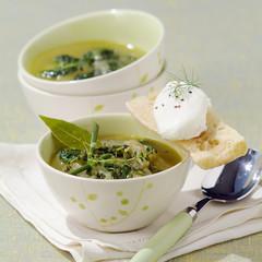 Spinach Bouillabaisse