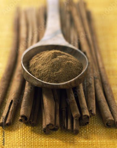 cinnamon sticks and powder