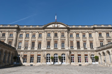 Rohan Palace at Bordeaux. France