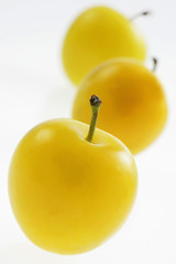 Mirabelle yellow plums