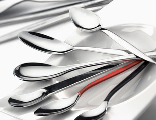 Stainless steel small spoons