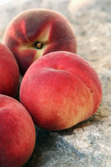 White peaches