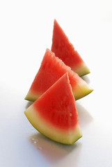 Triangles of watermelon