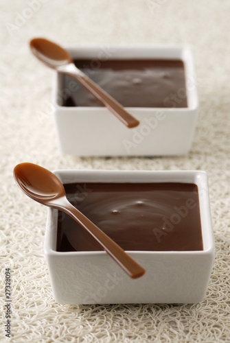 Chocolate cream dessert