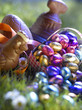 Selection of Easter chocolates