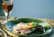 Plate of surmullet fillets