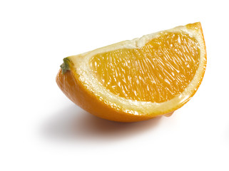 Quater of an orange