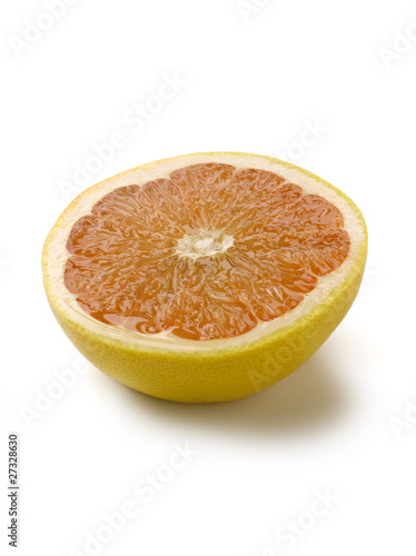Grapefruit cut in half
