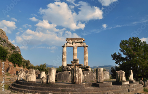 The Tholos at the sanctuary of Athena Pronaia