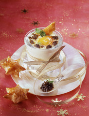 Coodled egg with caviar