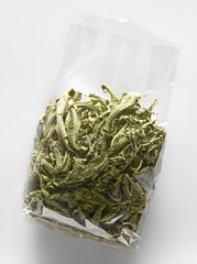 Bag of herbal tea