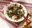 Warm cod salad