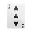 Carte trois trefles Card