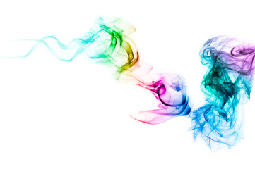 Smoke wave color background