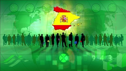 Work team Spain, green