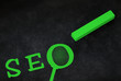 SEO, Suchmaschinenoptimierung - Konzept