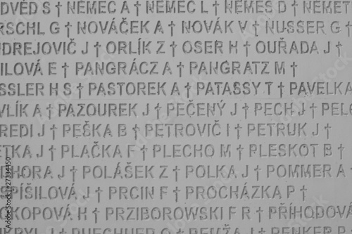 Slovakia - detail from communism offer landmark