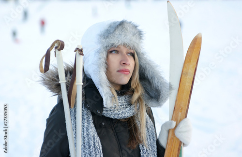 Лыжное снаряжение.