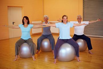 Rücken-Fitness in der Gruppe