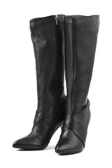 Black woman boots
