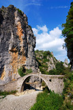 Zagoria stone bridge in Pindus Mountains
