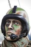 Guerre armée militaire pilote combat aviation conflit poster