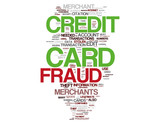 Credit card fraud concepts poster