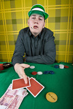 inveterate cardsharper poker player
