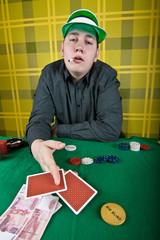 inveterate cardsharper poker player