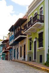 Colorful Old San Juan PR