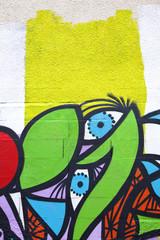 Graffiti tag art urbain peinture dessin expression