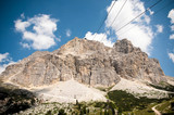 Dolomite mountain near Cortina
