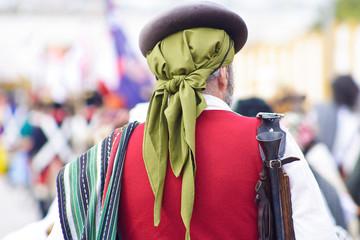 Guerrillero español en la Batalla de Bailén