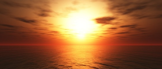 Hot Sunset background 05