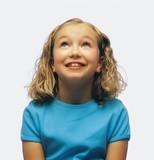 Portrait Of Smiling Girl - Fine Art prints