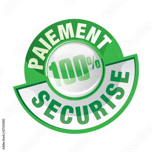 ICONE, BOUTON PAIEMENT 100% sécurisé