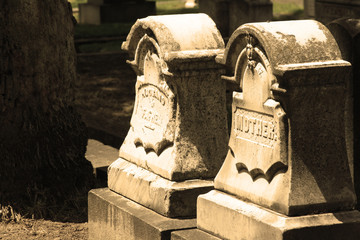 Old Time Headstones