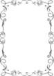 Cornice Ornamentale-Ornamental Frame-Vector