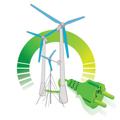 green electricity  - Wind energy