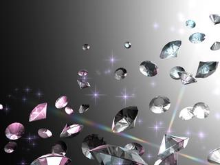 宝石の背景素材