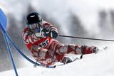 Fototapete Gigabyte - Skier - Beim Sport