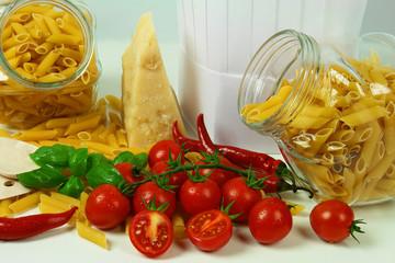 Pasta italiana - Penne all'arrabbiata