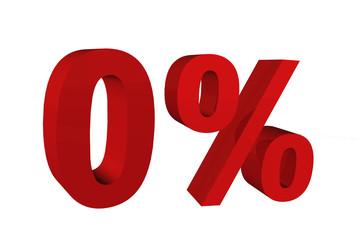 0 Prozent 3D