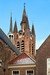 Delft Old Church Tower