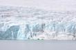 Glacier et fjord en Norvège