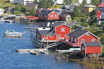 Maisons à Reine, Norvège