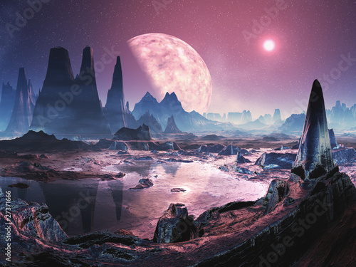 unihabited-alien-planet