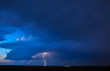 Thunderstorm in the night