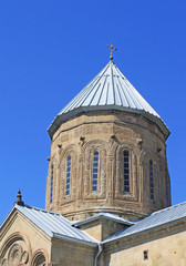 Dome of Samtavro Transfiguration Orthodox Church in Georgia