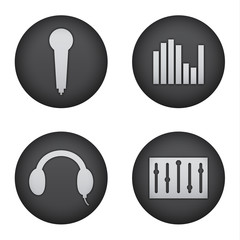 Audio Production Icons
